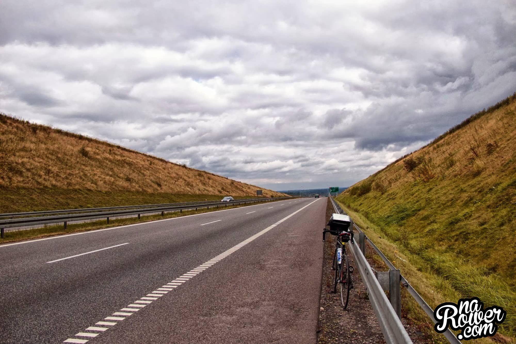150 kilometrów na rowerze
