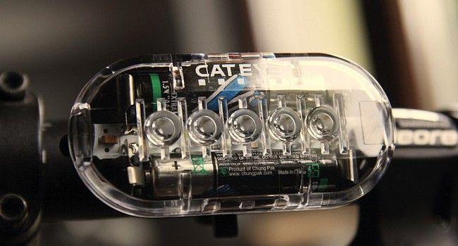 Test lampki rowerowej