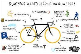 dlaczego warto jezdzic na rowerze