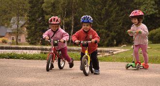 Jak nauczyć jeździć na rowerze