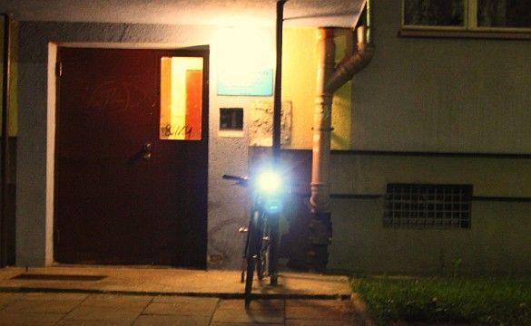 Test rowerowej lampki Cateye