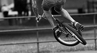 Sztywny widelec w rowerze