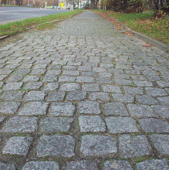 Ulica Pomorska droga rowerowa