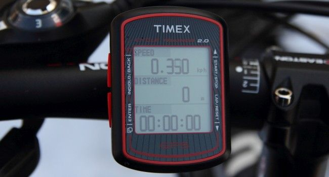 Test komputerka Timex Cycle
