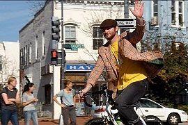 Pozdrawianie na rowerze