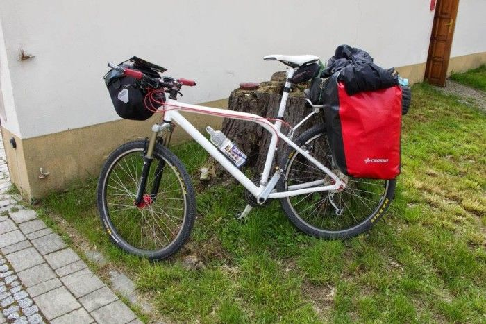 Wakacje z sakwami Crosso - Hawk Fatbone moje rowery