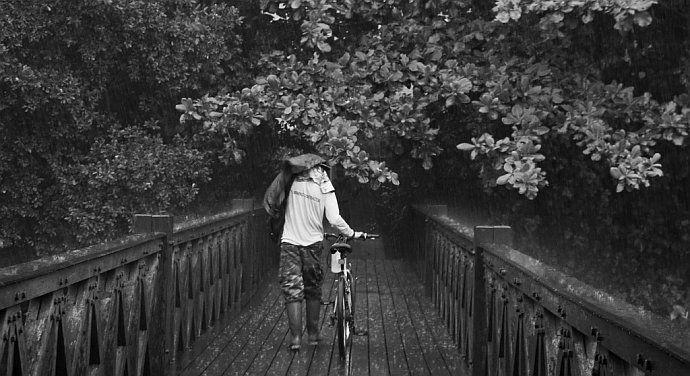 Zmienna pogoda na rower