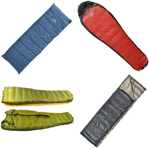 Od lewej, u góry : Koperta - ceneo.pl Mumia - 8a.pl Quilt - arklight-design.com Comforter- cumulus.pl