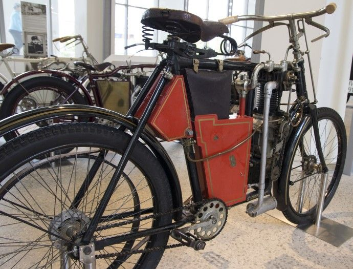 Stary motorower
