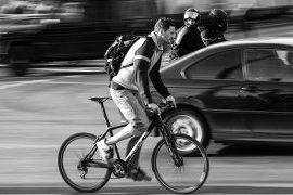 150 cm dla rowerzysty