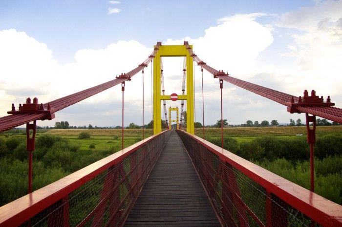 200 km Raba Most Puszcza Niepołomicka Niepołomice