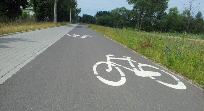 Ścieżki rowerowe w Toruniu