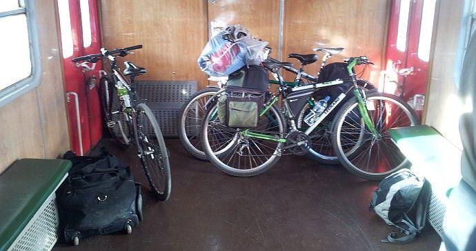 Rower w pociągu