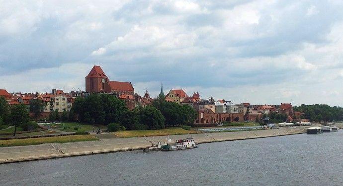 Toruńska panorama turystyka rowerowa