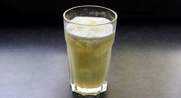 Napój regeneracyjny lód cytryna witaminy