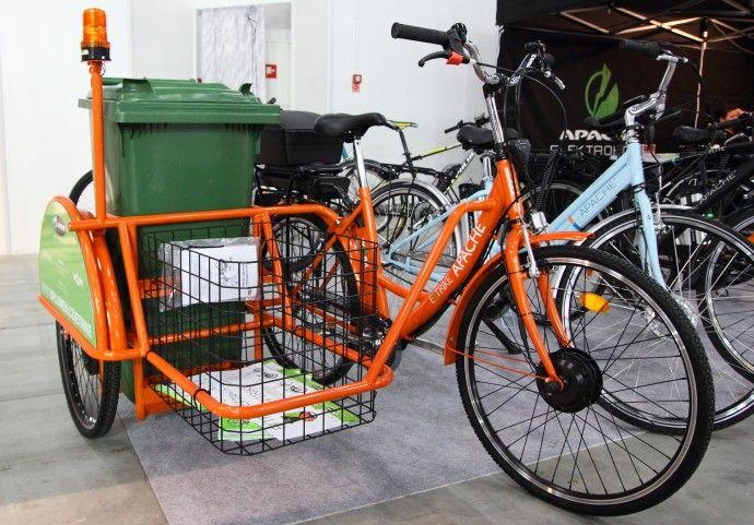 E-Trike Rower z koszem