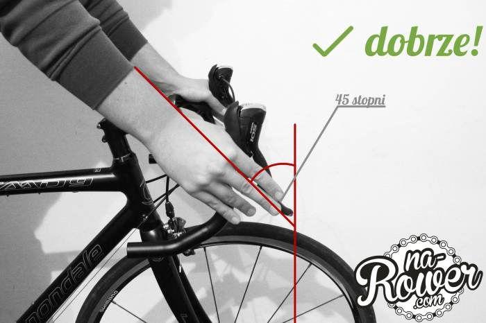 Jak ustawić klamkomanetki w rowerze