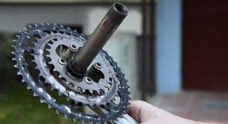 Jak odkręcić korbę w rowerze Hollowtech