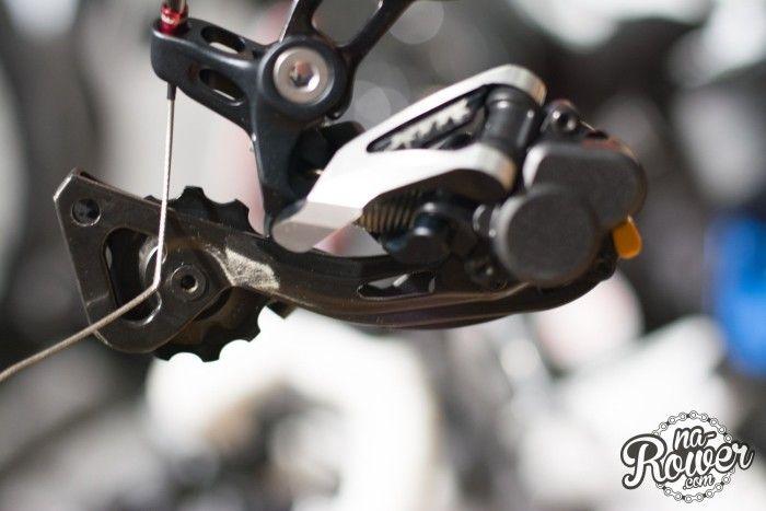 używany rower shimano xtr przerzutka tylna