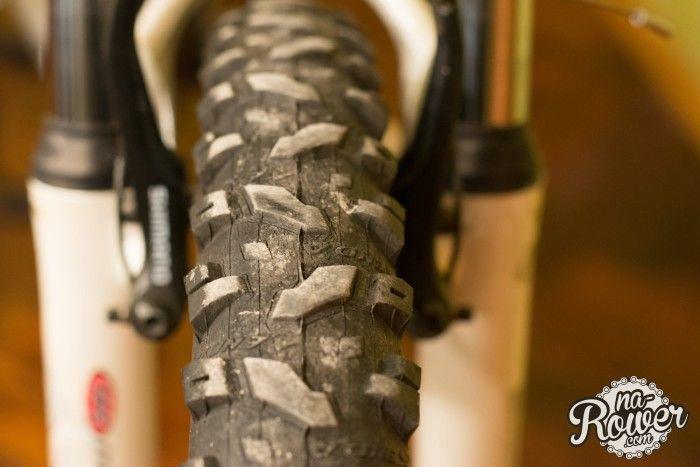 używany rower opona
