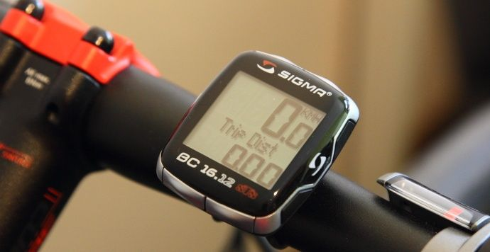 Licznik rowerowy bezprzewodowy Sigma