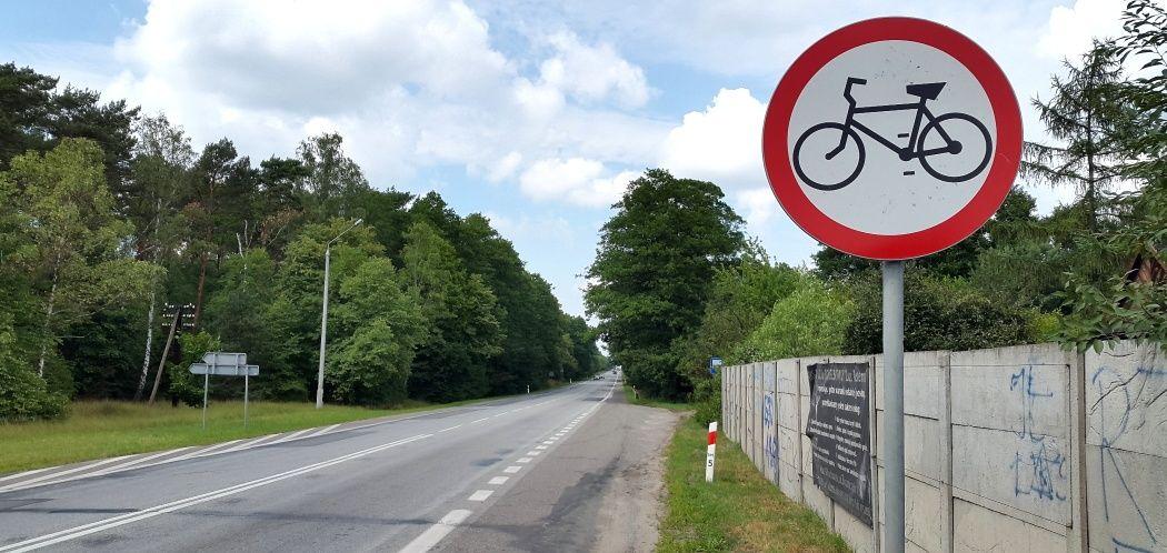 Zakaz wjazdu dla rowerów