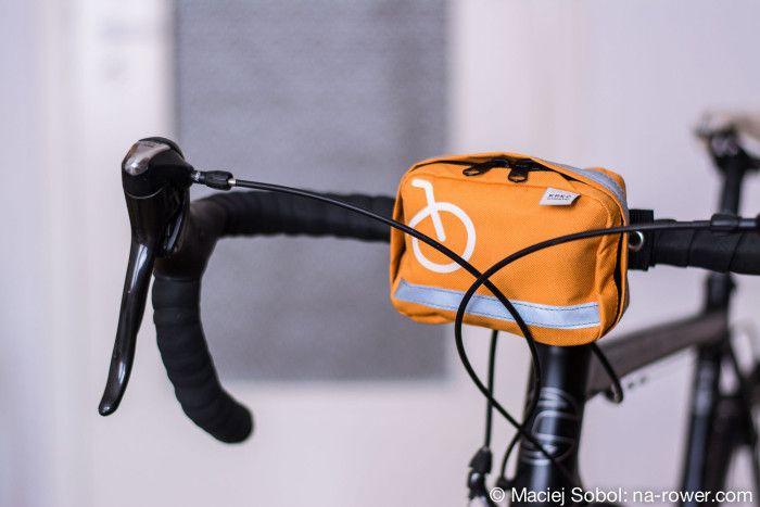 Apteczka rowerowa kręć kilometry! Mocowana na ramę roweru.