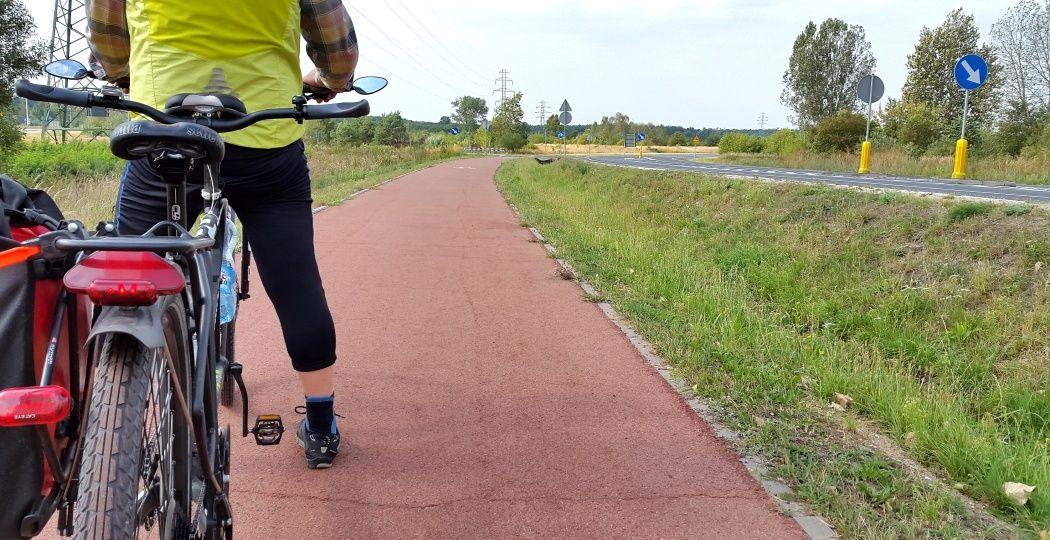 Droga rowerowa Kleszczów