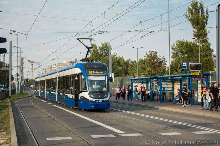Tramwaj Pesa Krakowiak 2014N - Kraków (2015)