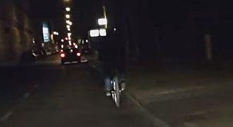 Rowerzyści bez lampek