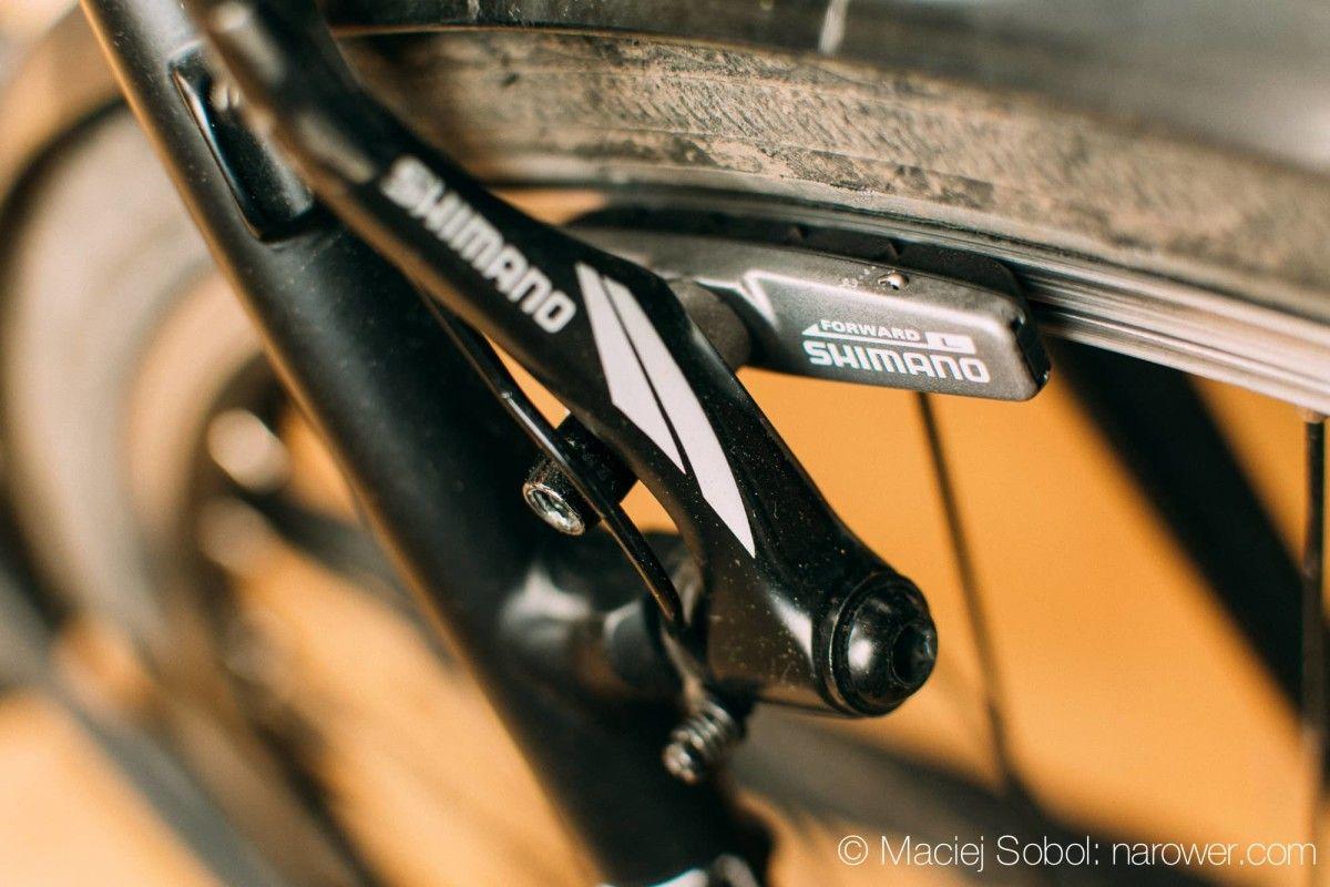 Jak wyregulować hamulce w rowerze? okładziny v-brake shimano