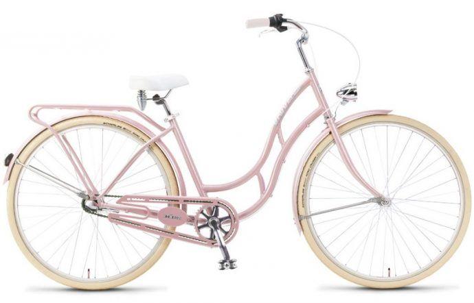 Ładny stylowy rower miejski
