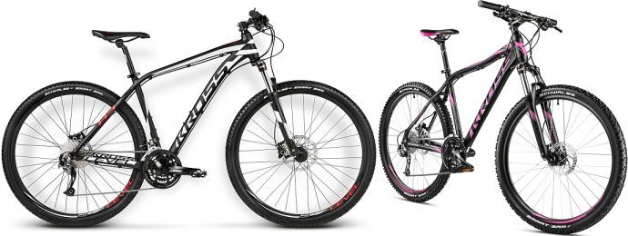 Rower górski dla kobiety