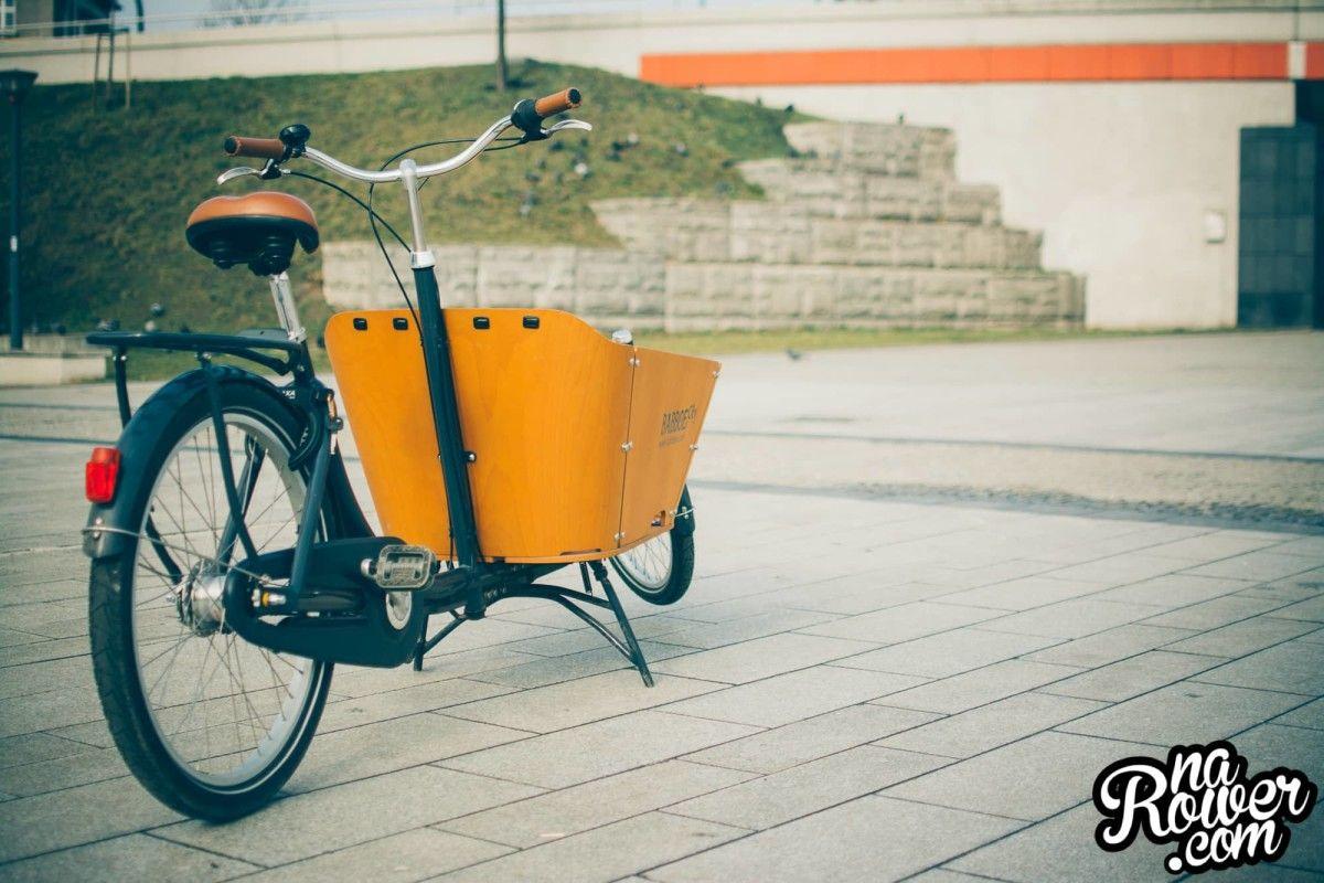 warto kupić rower towarowy BABBOE BIG CITY