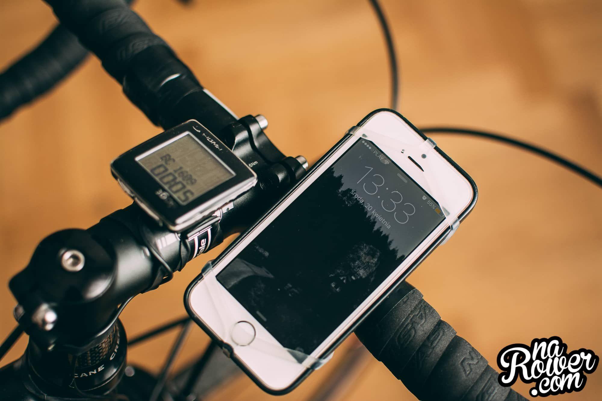 Uchwyt rowerowy na telefon recenzja Finn