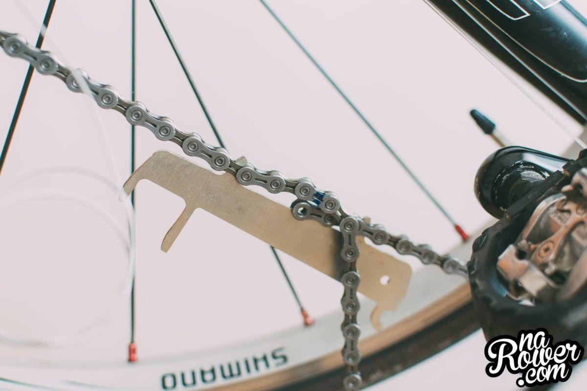 wymiana łańcucha w rowerze