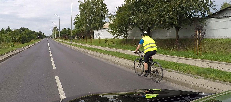 Kamizelki rowerowe i kask