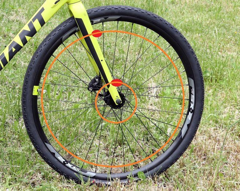 Wysokość montażu magnesu i czujnika od licznika rowerowego