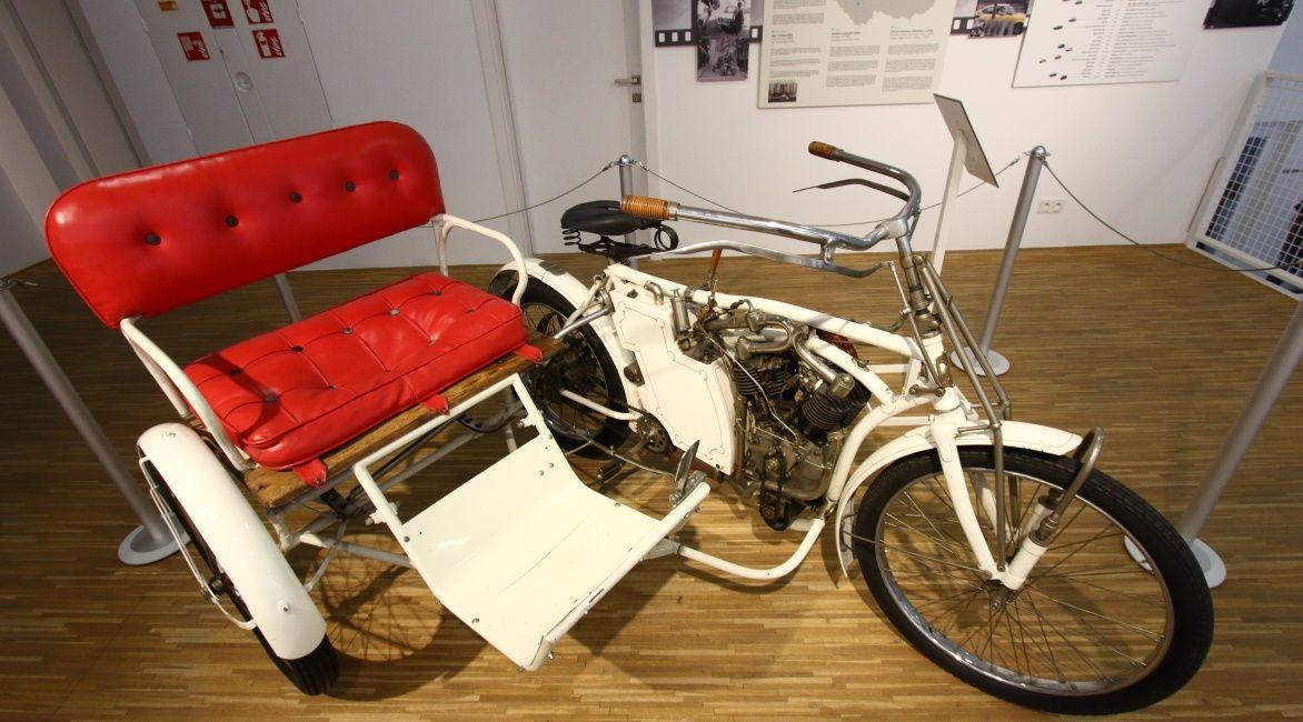 motorower z fotelem