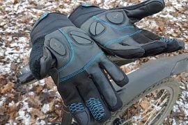 Shimano rękawice rowerowe test