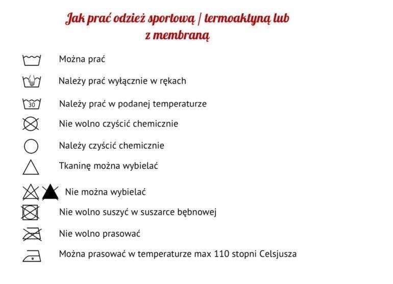 Jak prać odzież sportową termoaktywną
