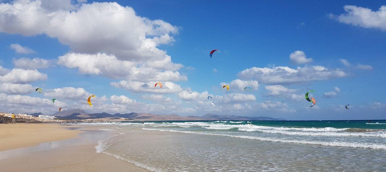 Plaża Jandia Kitesurf