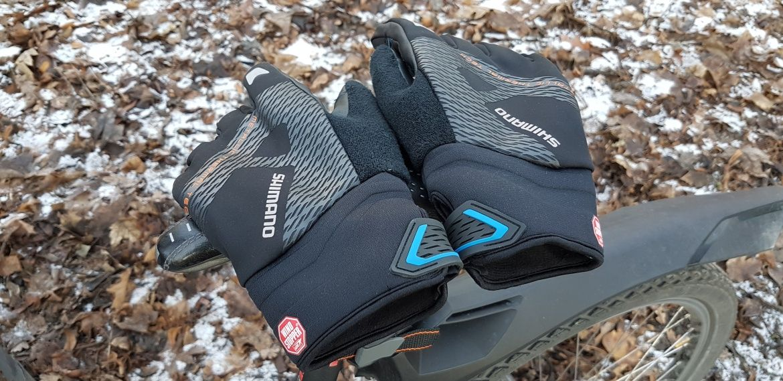 Zimowe rękawice na rower