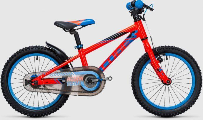 53be1325c Cube Kid 160 – ten rowerek na 16. calowych kołach wizualnie nawiązuje do dorosłych  rowerów. Rama jest aluminiowa – w czterech wersjach kolorystycznych, ...
