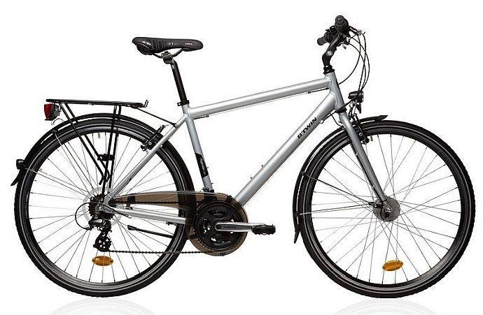 65eec20452227 B Twin Hoprider 300 – ten rower z Decathlonu to jeden z samotnych jeźdźców