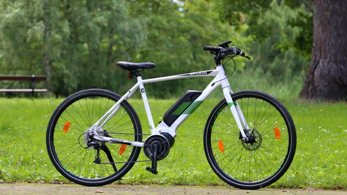 Skoda rower elektryczny