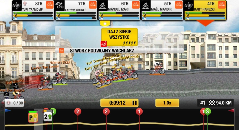 Tour de France gra