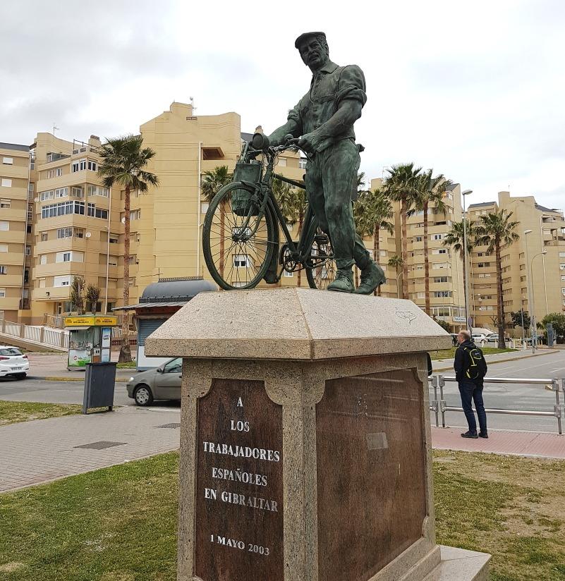 Los Trabajadores Espanoles En Gibraltar