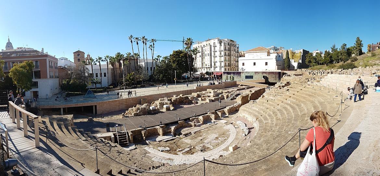 Teatr Rzymski Malaga