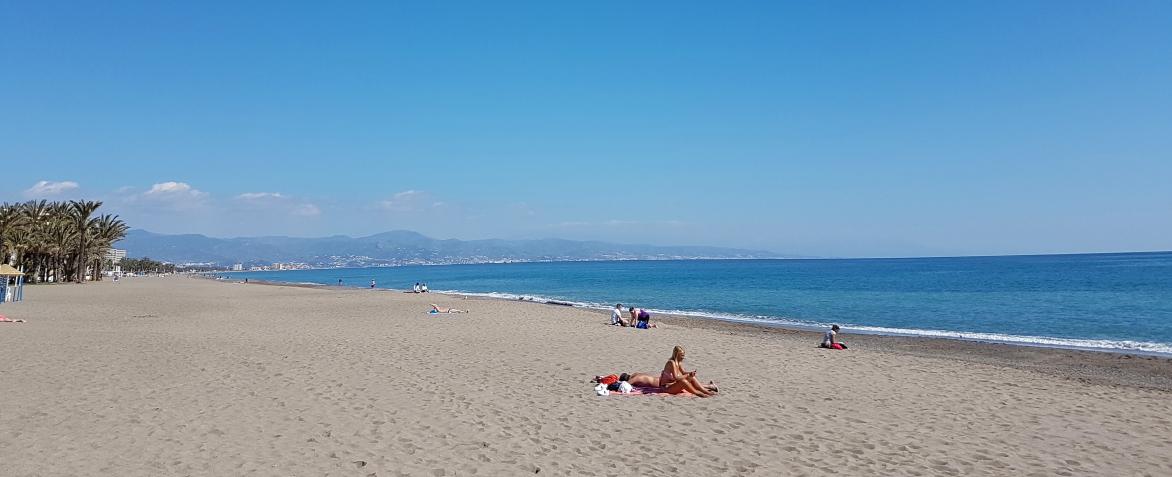 Plaża Torremolinos